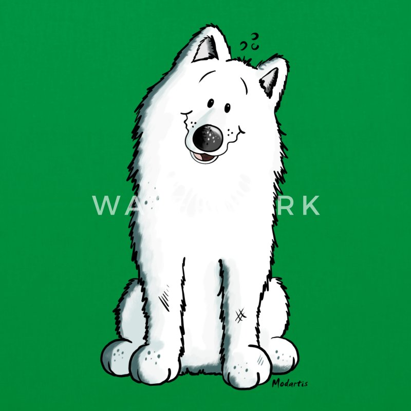 Cute Samoyed Bags & Backpacks - Tote Bag