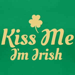 kiss me i'm irish excellent T-shirts - Vrouwen Premium T-shirt