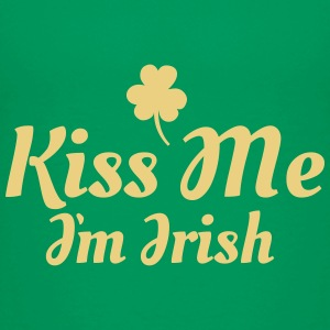 kiss me i'm irish excellent T-Shirts - Kinder Premium T-Shirt