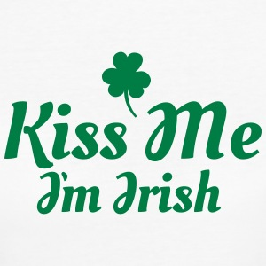 kiss me i'm irish excellent T-shirts - Vrouwen Bio-T-shirt