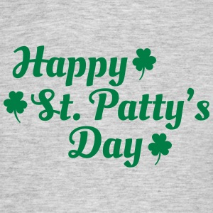 happy st patty's day T-shirts - T-shirt herr