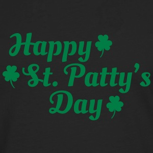 happy st patty's day Long sleeve shirts - Men's Premium Longsleeve Shirt