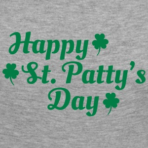 happy st patty's day Long Sleeve Shirts - Women's Premium Longsleeve Shirt