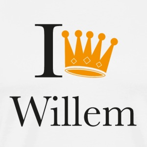I king Willem T-shirts - Mannen Premium T-shirt