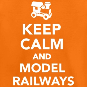 Keep calm and model railways T-Shirts - Kinder Premium T-Shirt