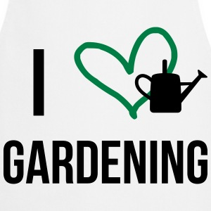 I Love Gardening  Aprons - Cooking Apron