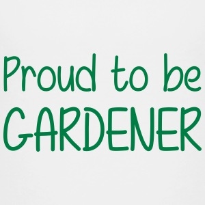 Proud to be Gardener Shirts - Teenage Premium T-Shirt