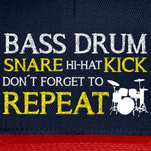 Bass Drum Repeat Caps & Mützen - Snapback Cap