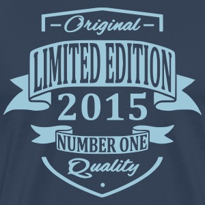 Limited Edition 2015 T-shirts - Mannen Premium T-shirt