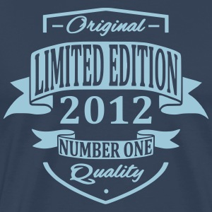 Limited Edition 2012 T-skjorter - Premium T-skjorte for menn