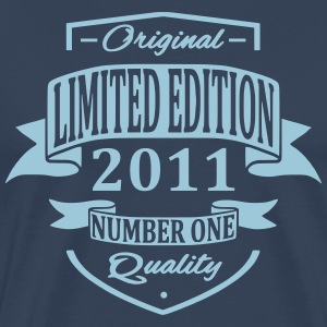 Limited Edition 2011 T-shirts - Herre premium T-shirt
