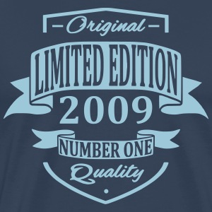 Limited Edition 2009 T-shirts - Herre premium T-shirt