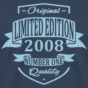 Limited Edition 2008 T-shirts - Mannen Premium T-shirt