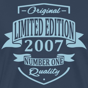 Limited Edition 2007 T-shirts - Mannen Premium T-shirt
