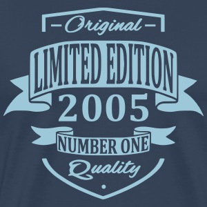 Limited Edition 2005 T-shirts - Mannen Premium T-shirt