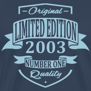 Limited Edition 2003 T-shirts - Mannen Premium T-shirt