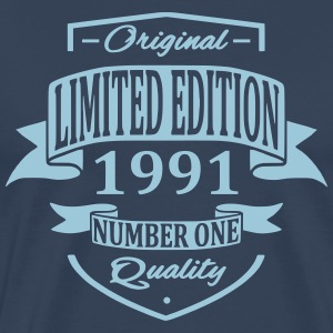Limited Edition 1991 T-shirts - Mannen Premium T-shirt