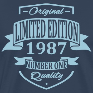 Limited Edition 1987 T-shirts - Herre premium T-shirt