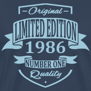 Limited Edition 1986 T-shirts - Premium-T-shirt herr