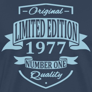 Limited Edition 1977 T-shirts - Herre premium T-shirt