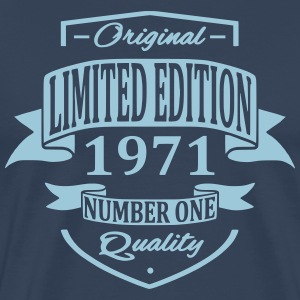 Limited Edition 1971 T-shirts - Mannen Premium T-shirt