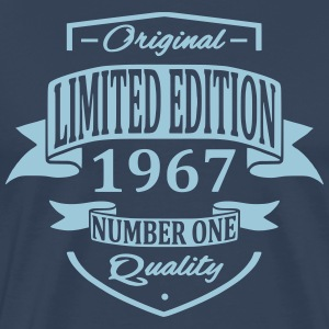 Limited Edition 1967 T-shirts - Herre premium T-shirt
