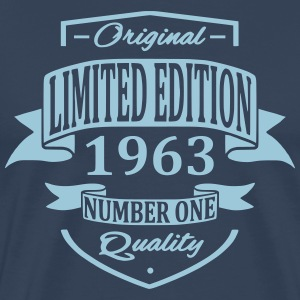 Limited Edition 1963 T-shirts - Herre premium T-shirt