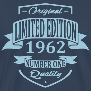 Limited Edition 1962 T-shirts - Mannen Premium T-shirt
