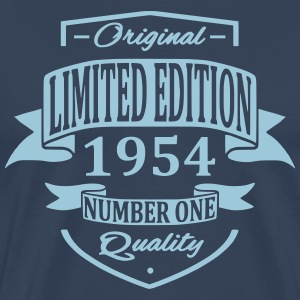 Limited Edition 1954 T-skjorter - Premium T-skjorte for menn