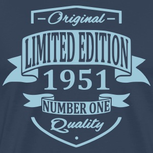 Limited Edition 1951 T-shirts - Mannen Premium T-shirt
