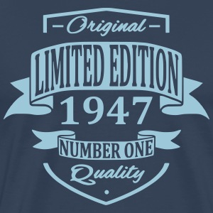 Limited Edition 1947 T-shirts - Mannen Premium T-shirt