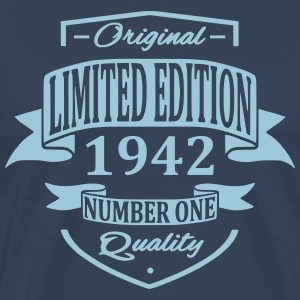 Limited Edition 1942 T-shirts - Mannen Premium T-shirt