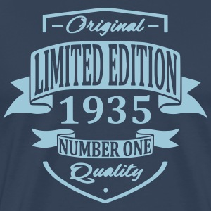 Limited Edition 1935 T-shirts - Mannen Premium T-shirt