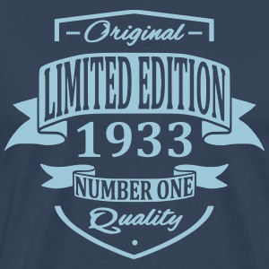 Limited Edition 1933 T-shirts - Mannen Premium T-shirt