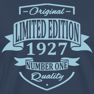 Limited Edition 1927 T-shirts - Herre premium T-shirt