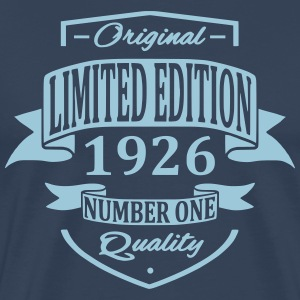 Limited Edition 1926 T-shirts - Mannen Premium T-shirt