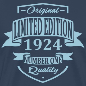 Limited Edition 1924 T-shirts - Mannen Premium T-shirt