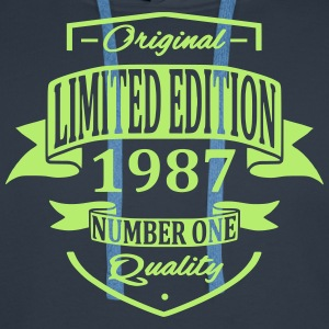 Limited Edition 1987 Hoodies & Sweatshirts - Men's Premium Hoodie