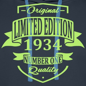 Limited Edition 1934 Sweat-shirts - Sweat-shirt à capuche Premium pour hommes