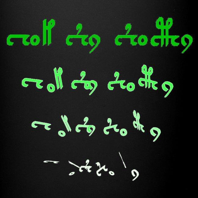 Voynich text version 1