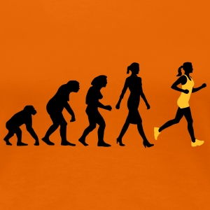 evolution_jogging_woman_022015_a_2c T-Shirts - Frauen Premium T-Shirt