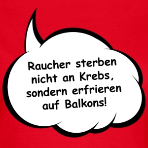 Oh-No Rauchertod T-Shirts - Frauen T-Shirt