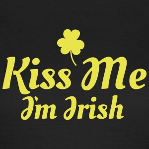 kiss me im Irish excellent T-shirts - T-shirt dam