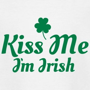 kiss me im Irish excellent Skjorter - T-skjorte for tenåringer