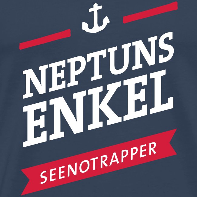 T-Shirt Neptuns Enkel, männlich