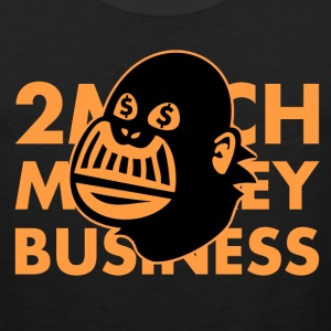 2 much monkeybiz #2 Tank Tops - Männer Premium Tank Top