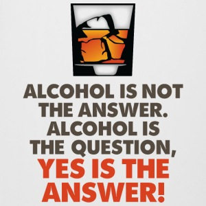 Alcohol is not the answer. Yes is the answer! Mugs & Drinkware - Beer Mug