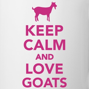 Keep calm and love goats Tassen & Zubehör - Tasse