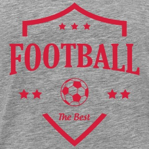 Football T-shirts - Herre premium T-shirt