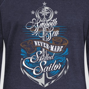 Skilled Sailor Hoodies & Sweatshirts - Women's Boat Neck Long Sleeve Top